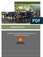 MANDATO IV