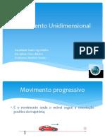 Movimento Unidimensional (1)