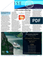 "Cruise Weekly for Tue 23 May 2017 - Helloworld lifts cruise offering, New active cruise line, Sydney situation ""critical"", P"