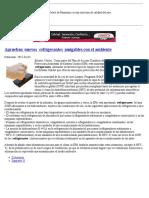 4 Aprueban Nuevos Refrigerantes Amigables Con El Ambiente _ Empresas _ Climatización y Refrigeración