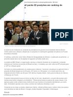 Sem ministras, Brasil perde 22 posições em ranking de igualdade de gênero - BBC Brasil.pdf