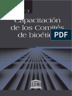 Libro Capacitación de Los Comites de Bioética