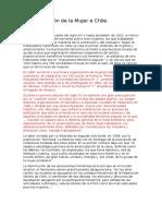 Sindicalización de La Mujer e Chile
