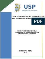 Mision y Vision Escuela Profesional y Universidad San Pedro