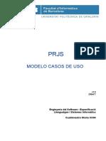 Modelo de Casos de Uso - U