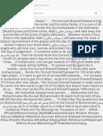 ✨Durood:Salawat E Alfi Hazari✨ . . This Durood Shareef:Salawat brings immediate success for the reci