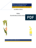 TRANSFORMACIONES LINEALES (1)