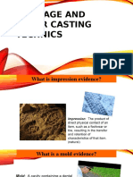 Moulage and Other Casting Technics