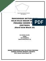 Cover Rancangan Aktualisasi