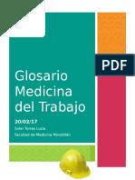 Glosario Medicina Del Trabajo