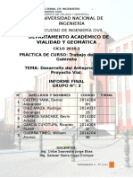 Informe Final-proyecto Vial