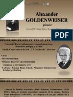 Alexander Goldenweiser - pianist