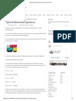 Tipos de Reacciones Químicas _ La Guía de Química.pdf