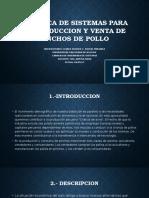 DINAMICA DE SISTEMAS PARA LA PRODUCCION Y VENTA DE PINCHOS DE POLLO