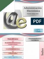 Admin. Electronica 2009-2010