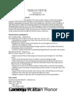 tess guyette-resume