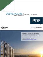 E broacher of flats in OMR Chennai | Godrej Azure