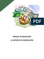 Manual de Iniciacion Deporte de Orientacion