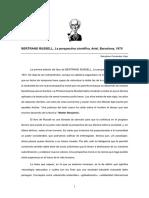 Bertrand-Rusell La Perspectiva Cientifica-(Resumen)