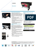 HP Designjet Z6200 Datasheet A4