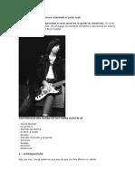 Curso Guitarra PunkRock