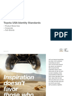 Toyota USA Identity Standards