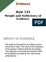 Evidence Rule 133