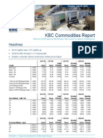 JUL 27 KBC Commodities Report