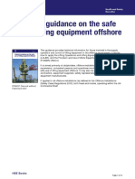 Technical Guidance on the Safe Use of Linfting Equipment Offshore