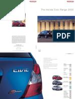 Honda Civic 2001-2005