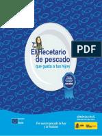 2013 Infantil Libro El Recetario de Pescado Tcm5-52135