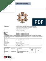 SFTPreal10 Cat7 6x4p Loom 900MHz AWG23