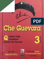 Quaderno n° 3 della Fondazione Ernesto Che Guevara [anno 2000]