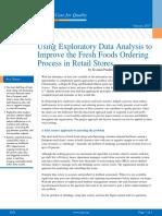 Fresh Foods Ordering Process