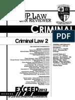 UP 2012 Criminal Law Book 2