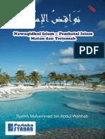 Nawaqidhul Islam - Pembatal Islam - Matan Dan Terjemah