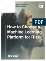 How to Choose a Machine Learning Platform for Risk M 050317b