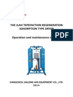 Air Absorbent Dryer Hangzhou Jialong Operation and Maintenance Manuals