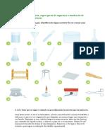 Material de Laboratório e Segurança Ficha