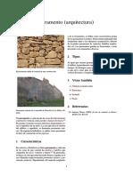 Paramento (arquitectura)