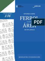 Informe sobre Ferrol e a súa área de influencia