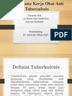 Mekanisme Kerja Obat Anti Tuberculosis