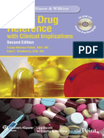 -Lippincott Williams & Wilkins' Dental Drug Reference With Clinical Implications, 2nd Edition