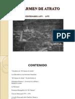EL CARMEN DE ATRATO CENTENARIO 1 875 - 1 975