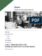 IBG 102 Lab Reports