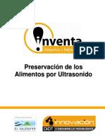 Preservacion de Los Alimentos Por Ultrasonido (Recovered 1)