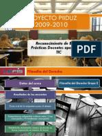 Filosofía del Derecho Grupo E 2009-2010