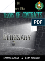 Glossary Terms of Contracts