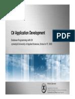 Database Programming 2008