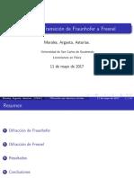 Difraccion de Fraunhofer Por Abertura circular